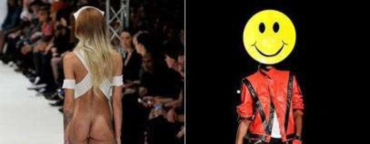 Semanas de moda ditam tendências, mas alguns looks, de tão estranhos, chamam ainda mais a atenção. Confira alguns dos destaques de Londres