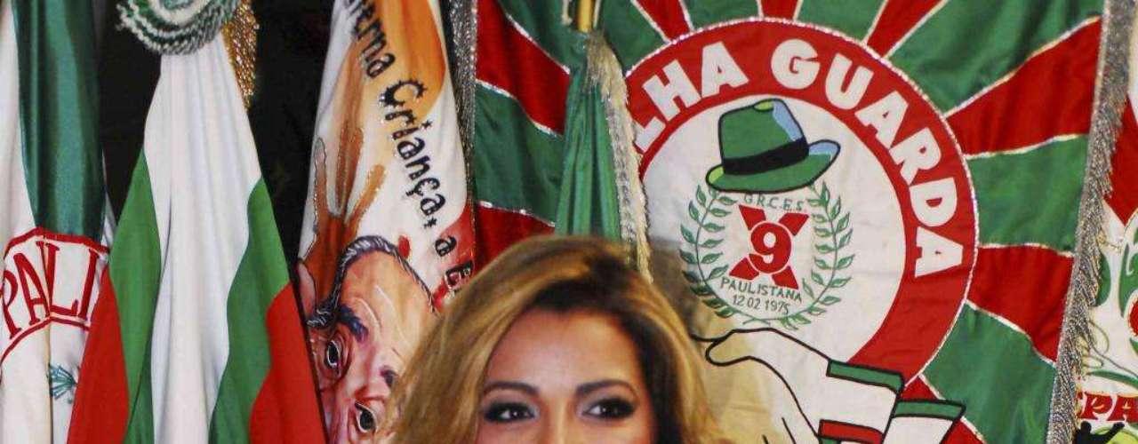 Acostumada a ganhar títulos, Miss Bumbum também foi eleita a Musa dos Compositores da escola de samba X9 Paulistana, da zona de norte de São Paulo
