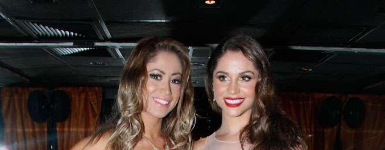 A Panicat Carol Narizinho e a ex-BBB Maria Melilo foram juradas do concurso de beleza A Bela da Praia, realizado em São Paulo, na noite de sexta-feira (21)