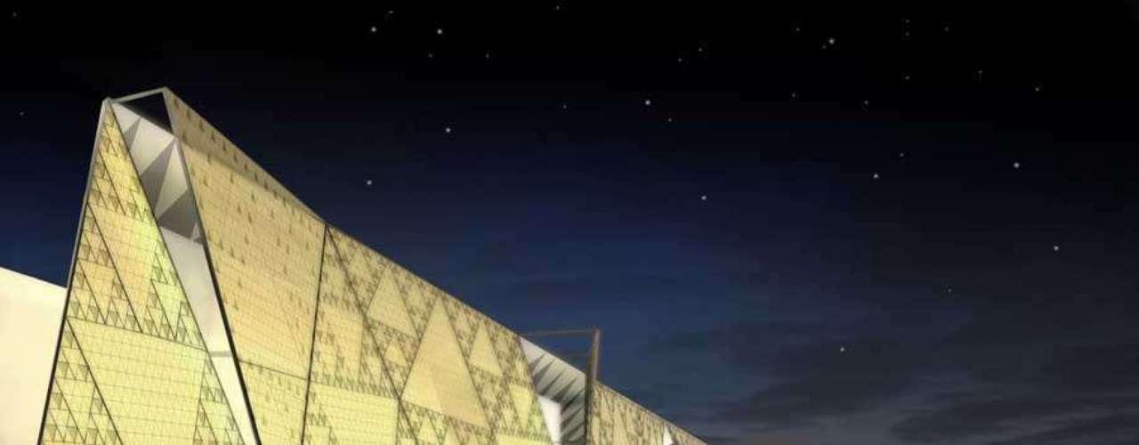 Maior museu arqueológico, o Grande Museu Egípcio, Giza, Egito: segundo a tendência das grandes formas de arquitetura, a cidade de Giza planejou o Grande Museu Egípcio como resultado de uma competição. A construção de US$ 550 milhões está programada para ser inaugurada em 2013, mesmo com a crise no país. O projeto está sendo construído no planalto das Pirâmides de Gizé e inclui um alabastro translúcido e uma enorme estrutura que abrigará os artefatos da história egípcia, como o famoso Tesouro de Tutancâmon