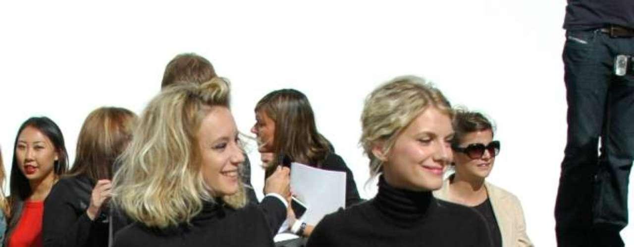 As atrizes francesas Ludivine Sagnier e Mélanie Laurent também compareceram ao evento