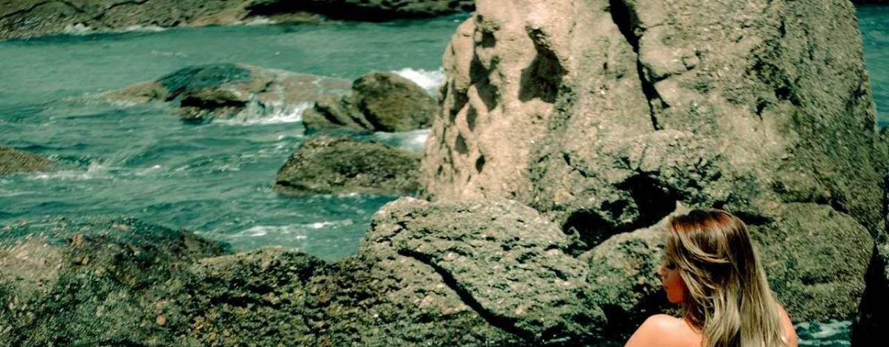 O ensaio foi feito em Niterói, no Rio de Janeiro