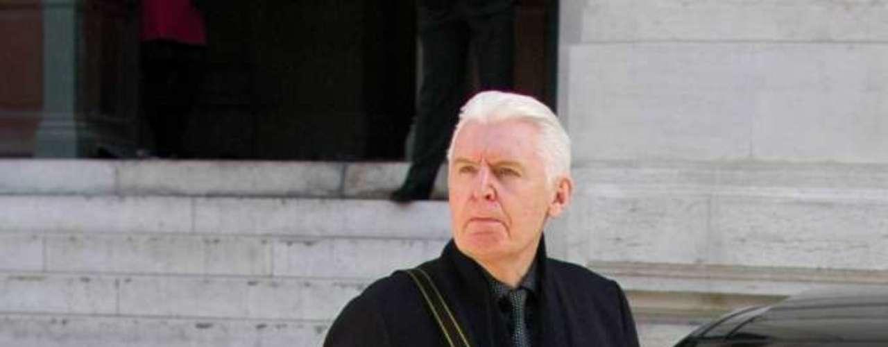 O tio de Stella, o fotógrafo Mike McCarteny também compareceu ao desfile