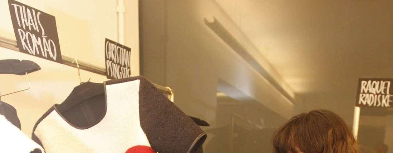 A Osklen foi a primeira grife a se apresentar na edição de inverno do SPFW 2013