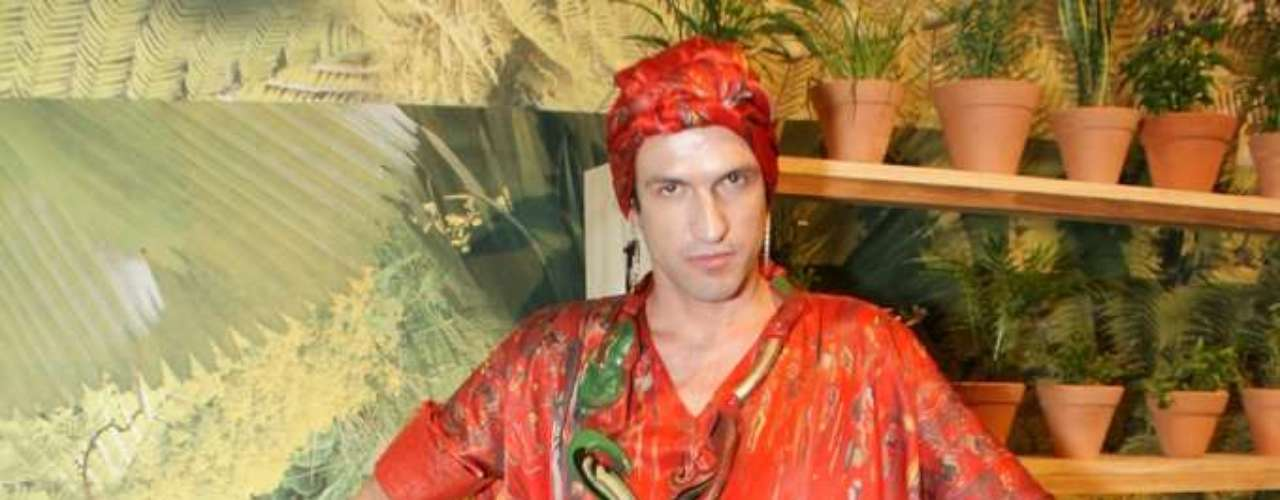 Dudu Bertholini, estilista, também marcou presença no Villa-Lobos