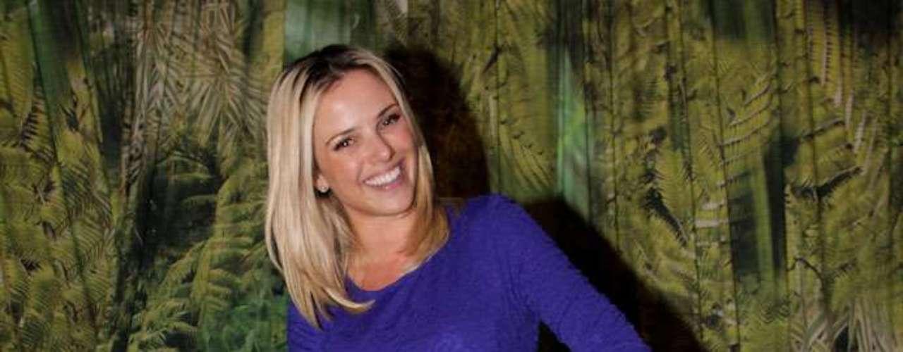 A também atriz Nathalia Rodrigues compareceu ao Parque Villa-Lobos. \