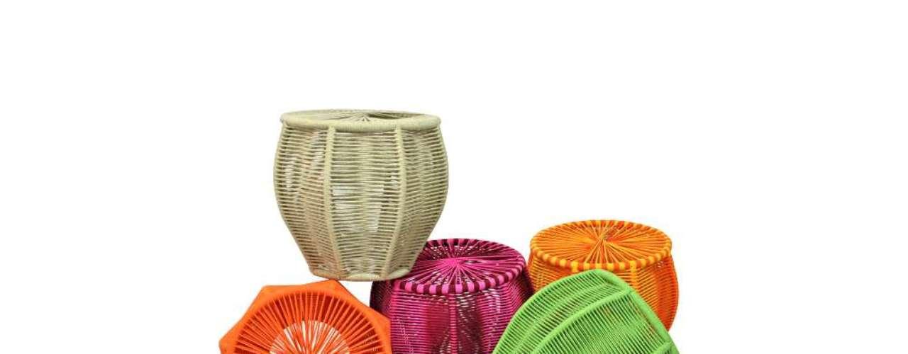 O designer mato-grossense Sérgio Matos, hoje na Paraíba, usa elementos de culturas regionais em seu trabalho. Informações: (83) 3063-2366