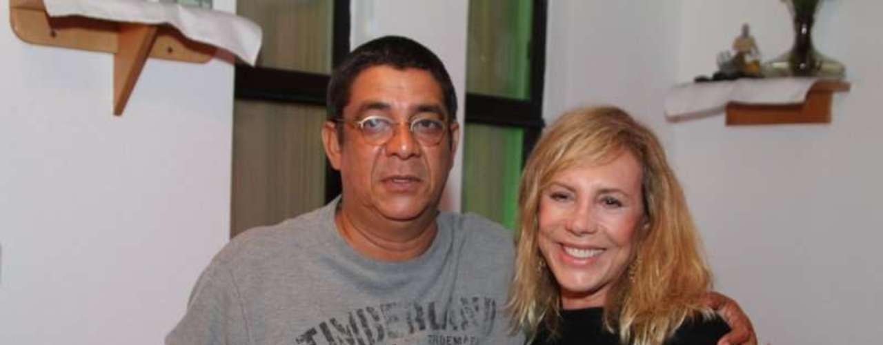 Zeca Pagodinho e Arlete Salles