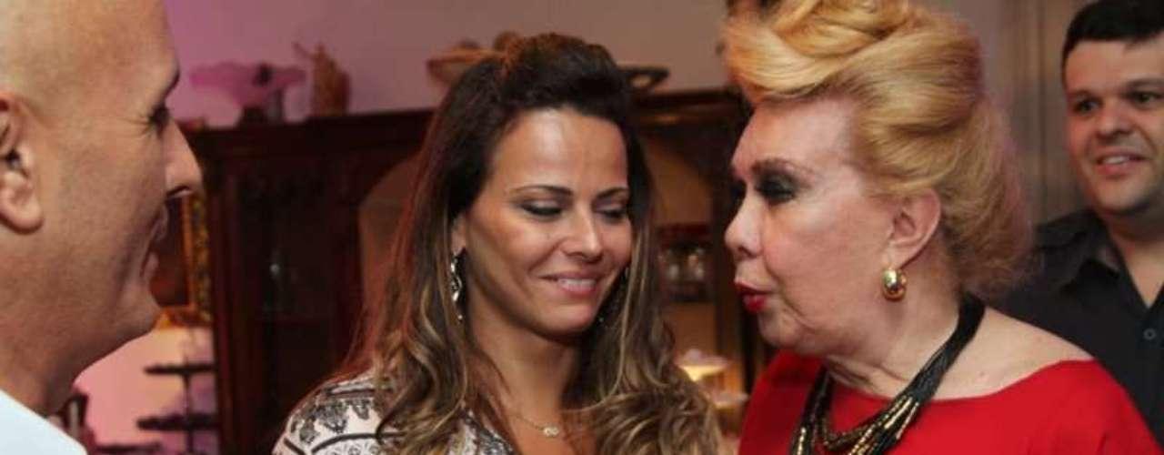 Viviane Araújo conversou com Rogéria