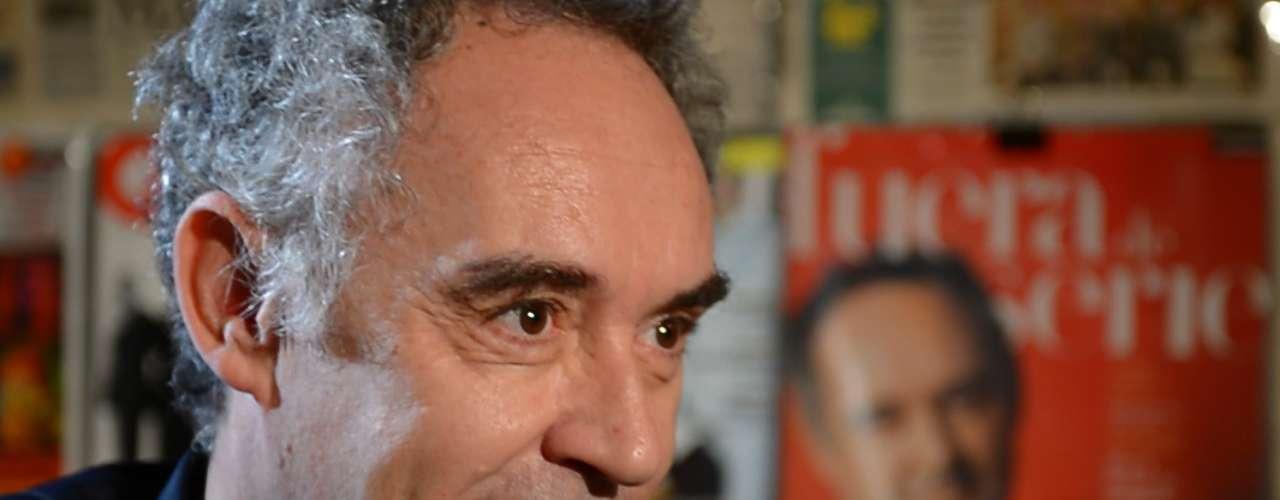 Ferran Adrià conversou com o Terra sobre culinária, o restaurante El Bulli, sua paixão e sua trajetória