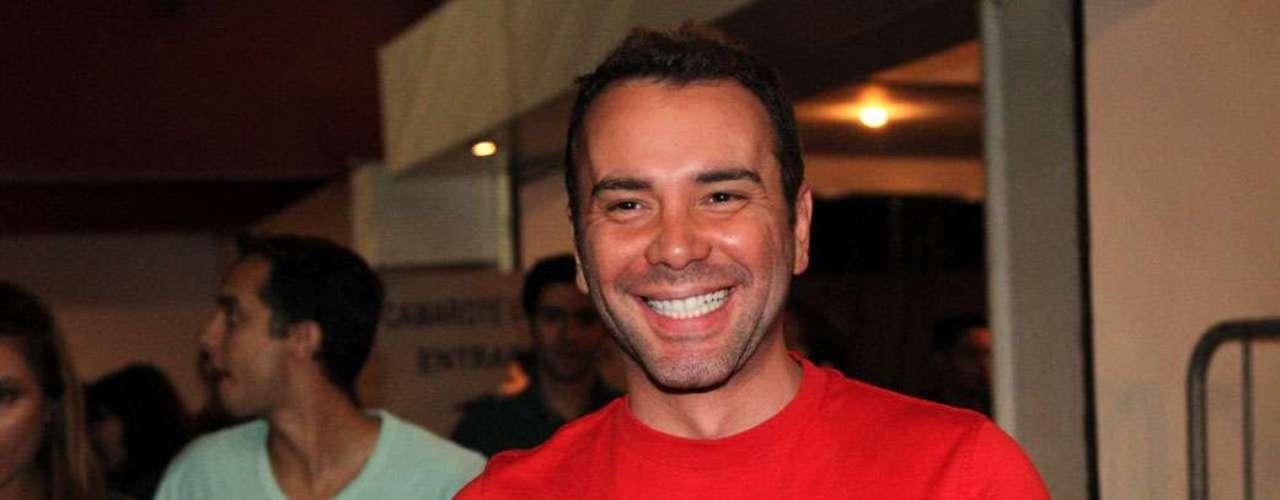 Matheus Mazzafera curtiu o show da cantora baiana