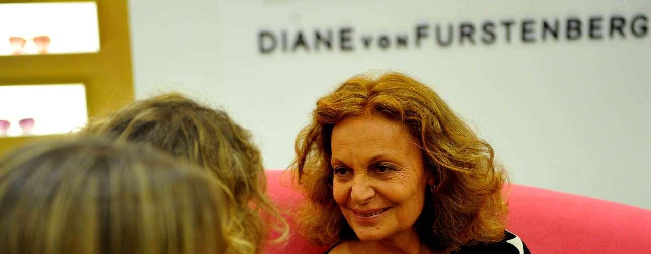 Nos anos 60, Diane foi casada com o príncipe Engon von Furstenberg e já teve um título de princesa. \