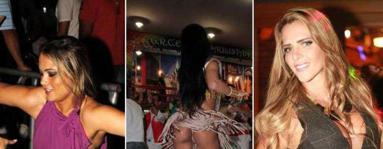 O fim de semana foi animado. Teve ensaio de escola de samba, festas de aniversário, batizado, shows e baladas. Camila Vernaglia mostrou seus atributos na quadra da X-9, enquanto Ellen Roche rebolou e dançou até o chão na Rosas de Ouro. Enquanto isso, Denise Rocha, a Furacão da CPI, comemorou seu aniversário com vestidinho decotado. Siga com a galeria e veja como foi o fim de semana dos famosos