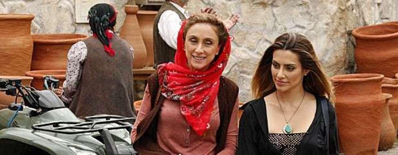 Sarila se encanta por Bianca, sem saber que a empresária é amante de seu futuro genro, Zyah