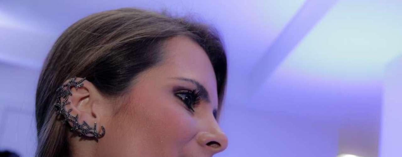 O evento foi organizado em pareceria com a grife de lingerie Miss Victtoria e a de sapatos e acessórios Carmen Steffens