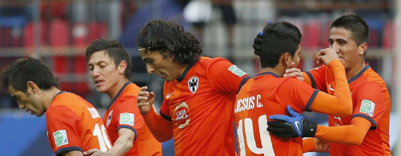 Jogadores do Monterrey vibram com classificação à semi