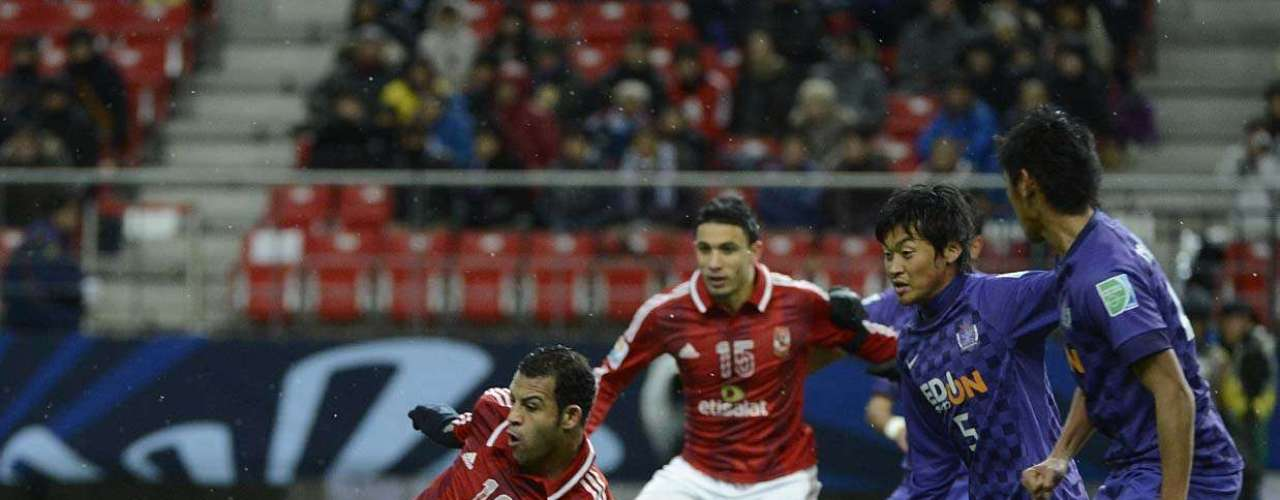 Hamdy fez o primeiro gol do Al Ahly