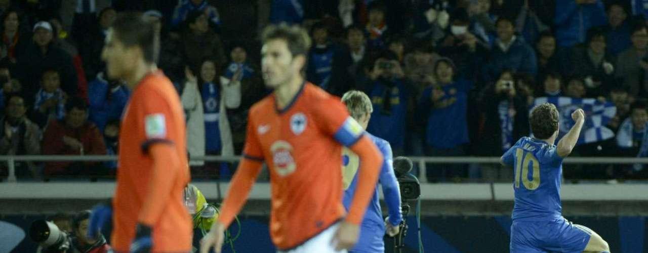 O meia do Chelsea abriu o placar da partida aos 17min da primeira etapa