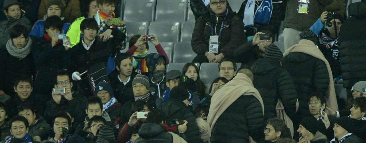 A delegação corintiana deixou o Estádio de Yokohama antes mesmo do apito final
