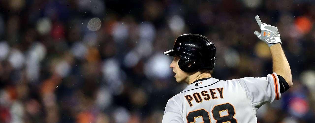 40: Buster Posey (EUA) - Beisebol