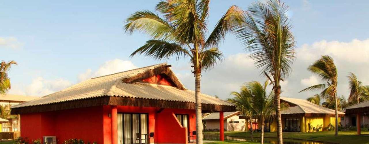 Praia do Cumbuco, CE Situado na linda praia de Cumbuco, a 30 km de Fortaleza, o Vila Galé Cumbuco é um magnífico eco-resort integrado perfeitamente na paisagem. O resort tem sistema all inclusive, com refeições, petiscos, bebidas e lazer incluídos na diária. O pacote da Litoral Verde Viagens com aéreo de 13 a 20 de janeiro sai por R$ 3.800 por pessoa. Informações: 0800-286-6606
