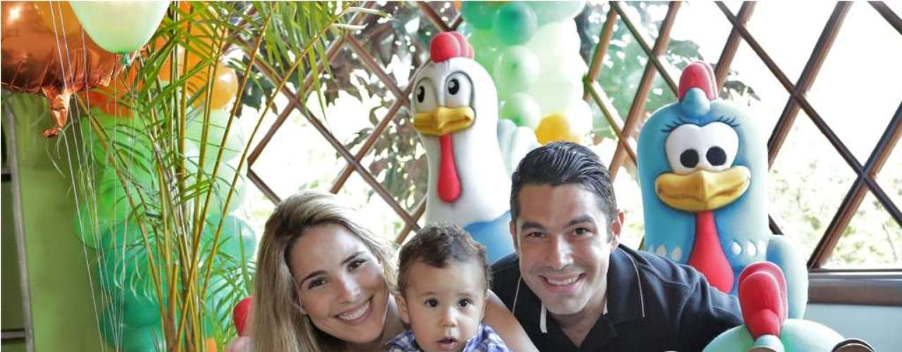 José Marcus, filho da cantora Wanessa Camargo com o empresário Marcus Buaiz, comemorou seu primeiro aniversário e ganhou festa na Fazenda \