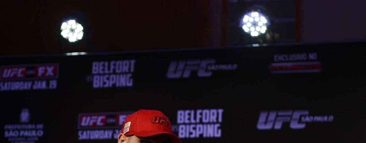 Daniel Sarafian era um dos favoritos no reality showThe Ultimate Fighter Brasil