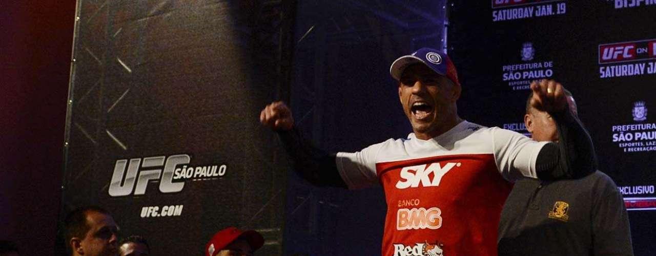 Vitor Belfort é o principal representante brasileiro no UFC São Paulo