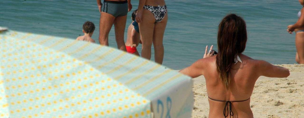 19 de janeiro A movimentação foi boa na praia de Ipanema na manhã de sábado