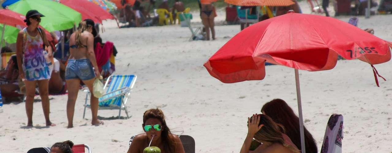 20 de janeiro Os cariocas aproveitaram o dia ensolarado para curtir a praia