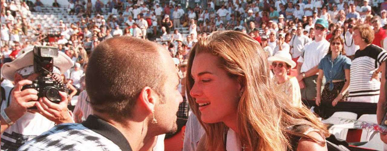 73ª: Brooke Shields - atriz, ex-mulher do ex-tenista Andre Agassi
