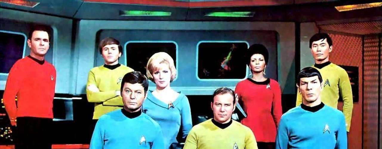 Um uniforme do filme Star Trek
