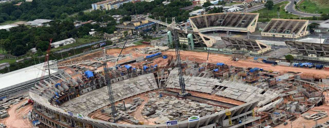 24 de janeiro de 2013: Manaus receberá quatro partidas da Copa do Mundo, todas elas da primeira fase