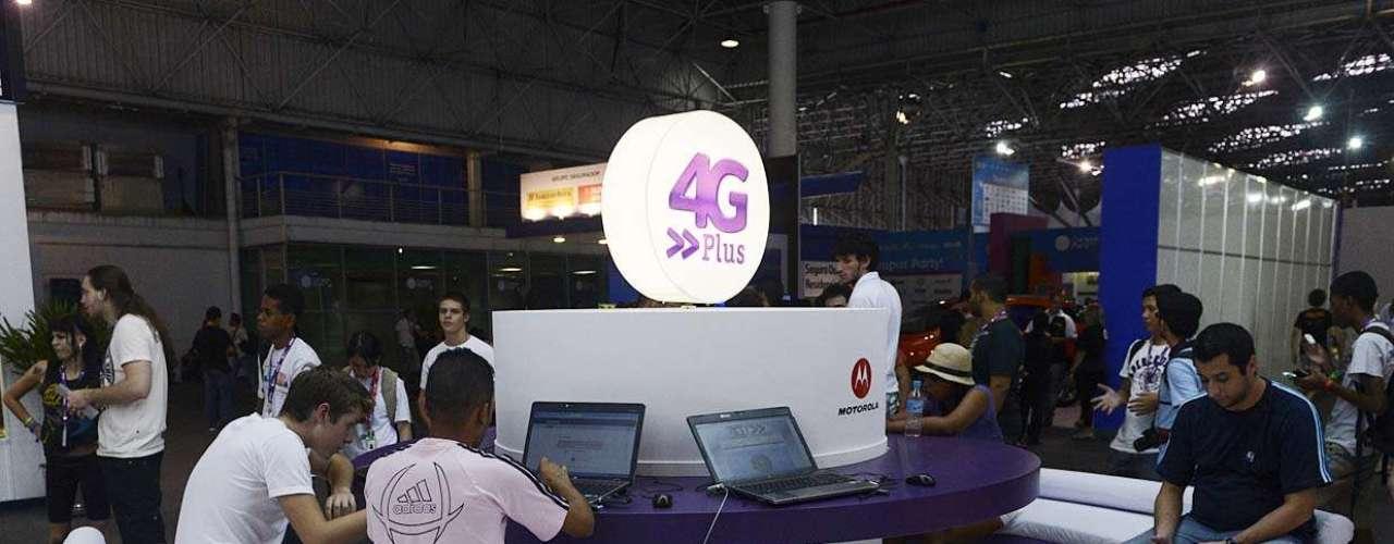 A Vivo tem um espaço para teste da tecnologia 4G