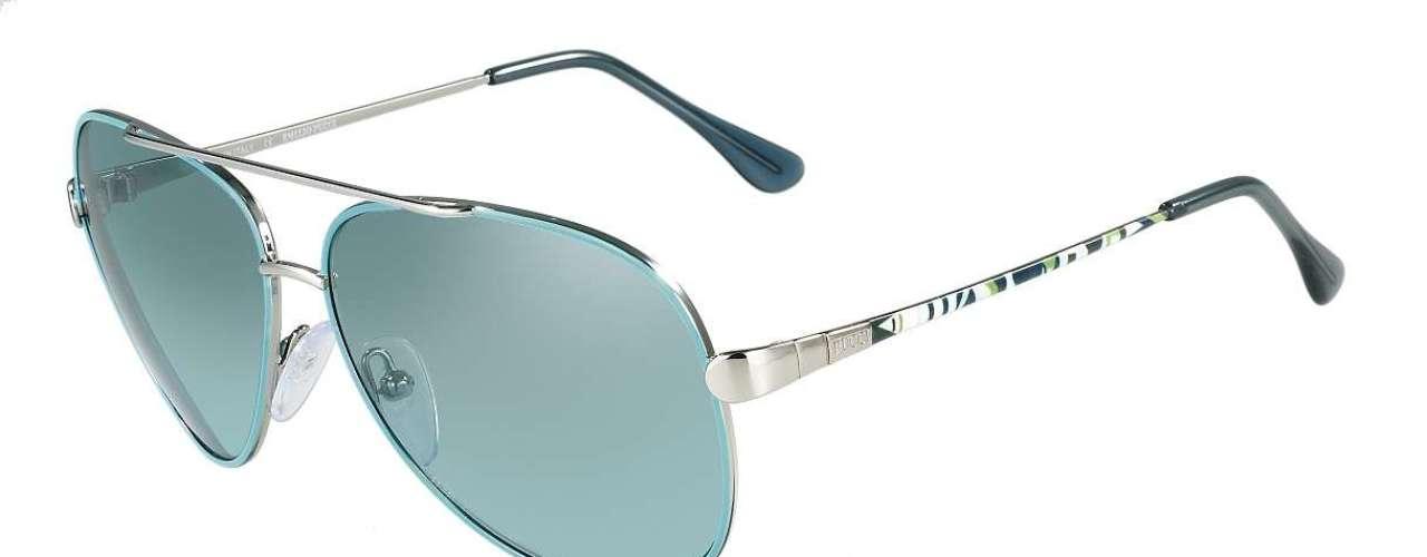 Óculos Emilio Pucci, da Marchon. Preço: R$ 949. Informações: 0800-7071516