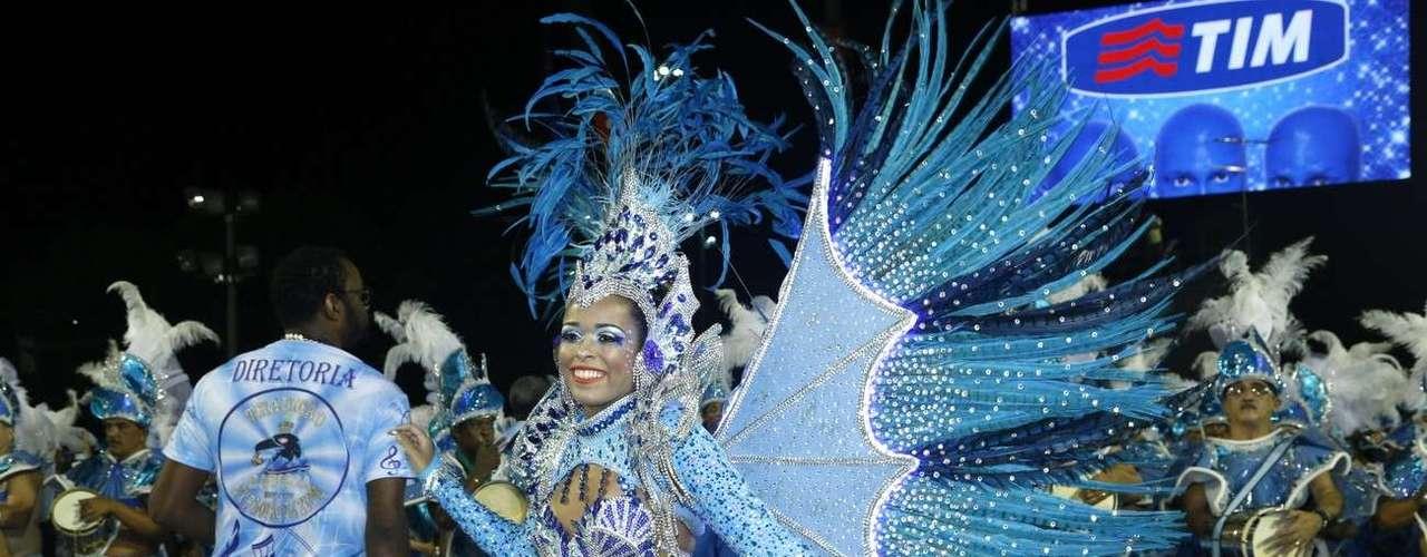 Desfile da Tradição no Grupo de Acesso no Rio de Janeiro