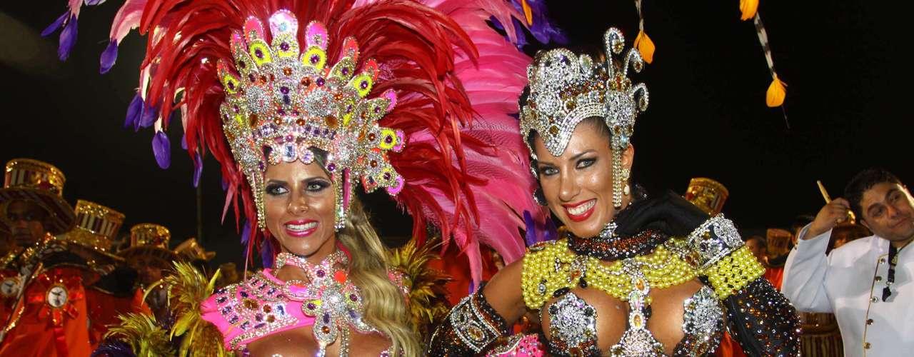 Irmãs Tati e Ana Paula Minerato