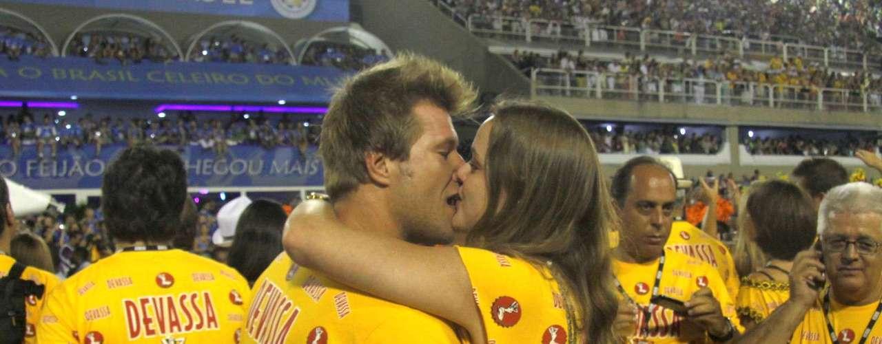 O ex-BBB Diego Alemão e a namorada Vivian Steinhoff