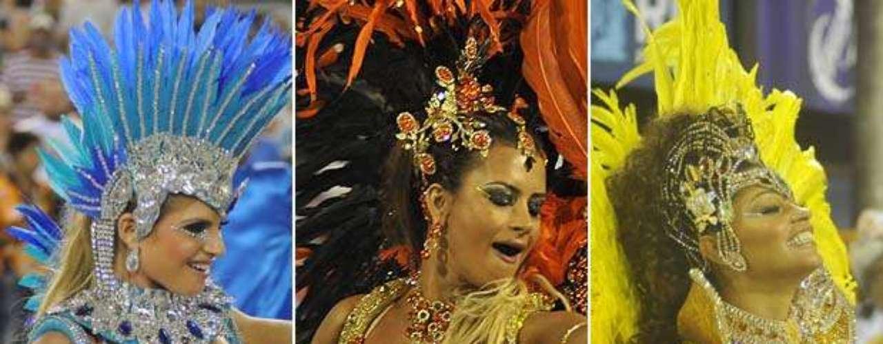 No primeiro dia do Carnaval do Rio de Janeiro 2013, seis escolas desfilaram, levando temas diversos ao público - Coreia do Sul, Rock in Rio ou Madureira. Com a estreia da Inocentes de Belford Roxo na elite carioca, desfiles animaram o público carioca. Reveja o melhor dos desfiles: