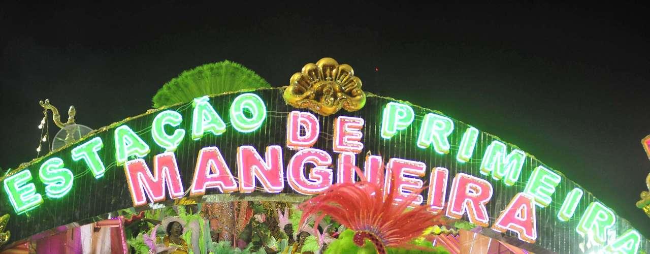 Mangueira homenageou Cuiabá