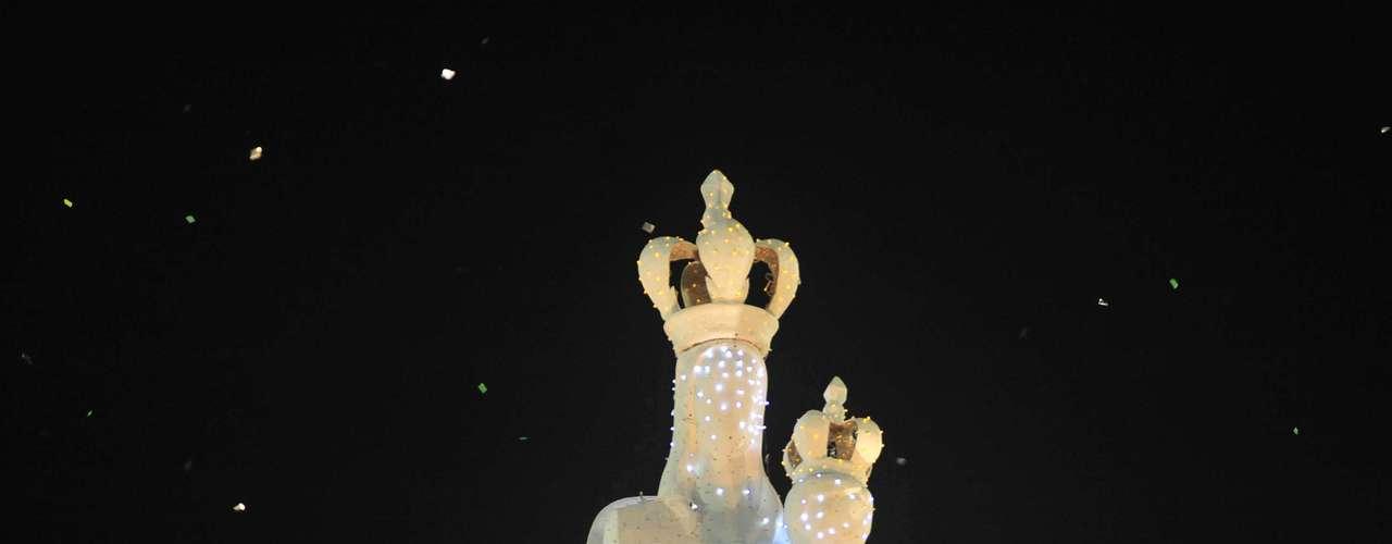 Desfile da Imperatriz Leopoldinense na Marquês de Sapucaí