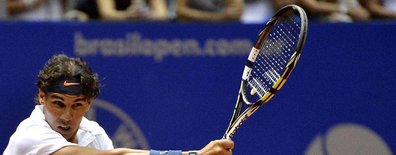Rafael Nadal voltou a jogar recentemente e, logo no primeiro torneio após o retorno, o espanhol foi vice-campeão em Viña del Mar, no Chile