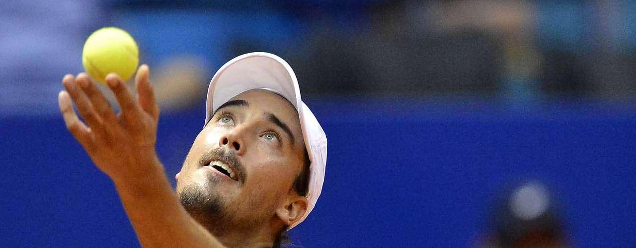 Alundhavia eliminado (e aposentado) o brasileiro Ricardo Mello na primeira fase do torneio