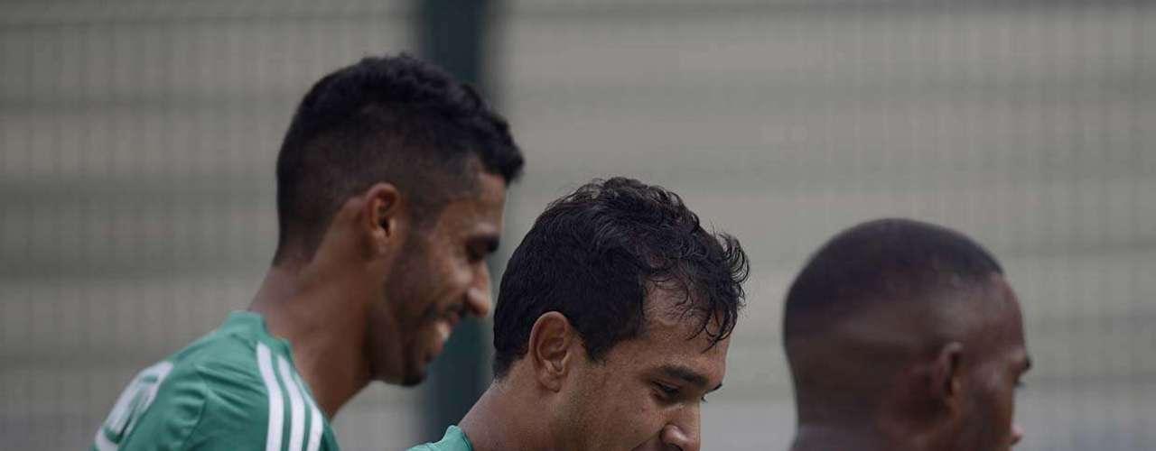 Vinícius ganhou a vaga de titular no ataque do Palmeiras após a saída de Barcos para o Grêmio