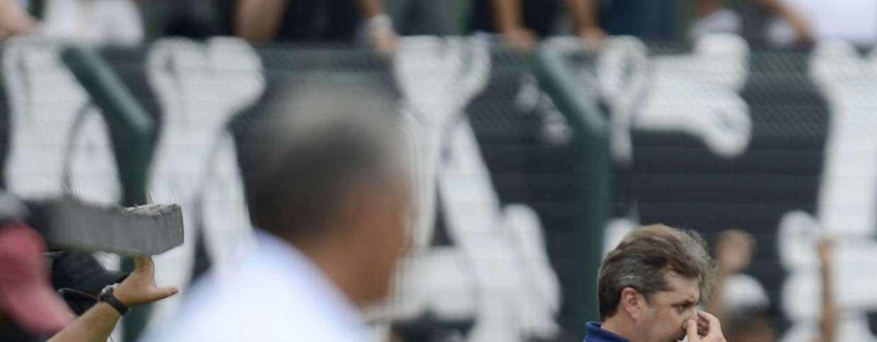 Apesar do gol corintiano, o Palmeiras de Gilson Kleina não se deixou abalar