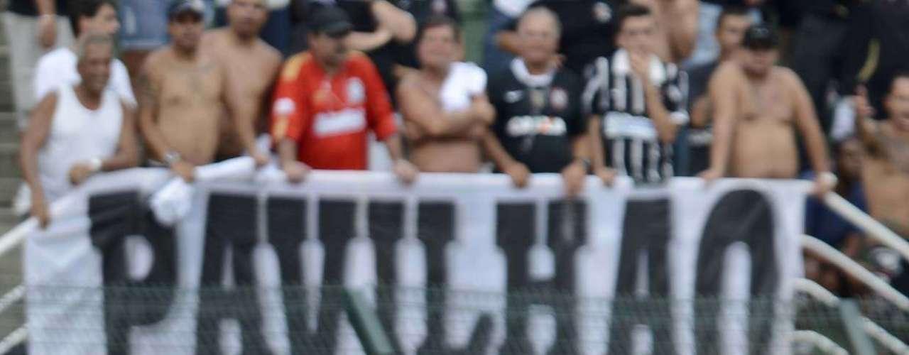 O empate do Palmeiras foi conquistado aos 29min do primeiro tempo, com o volante Vilson, de cabeça