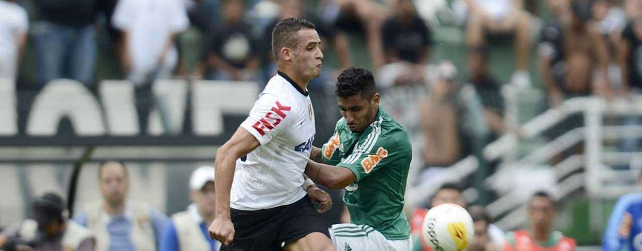 Renato Augusto entrou no Corinthiansno lugar de Danilo