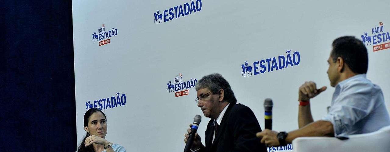 Em entrevista coletiva em São Paulo, a blogueira cubana comparou os governos dos irmãos Castro