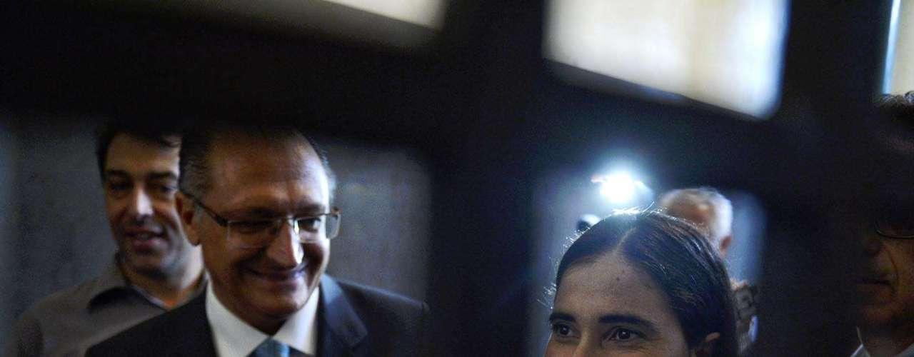A blogueira cubana chegou ao Brasil na segunda-feira e passou por cidades baianas e por Brasília, onde visitou a Câmara dos Deputados