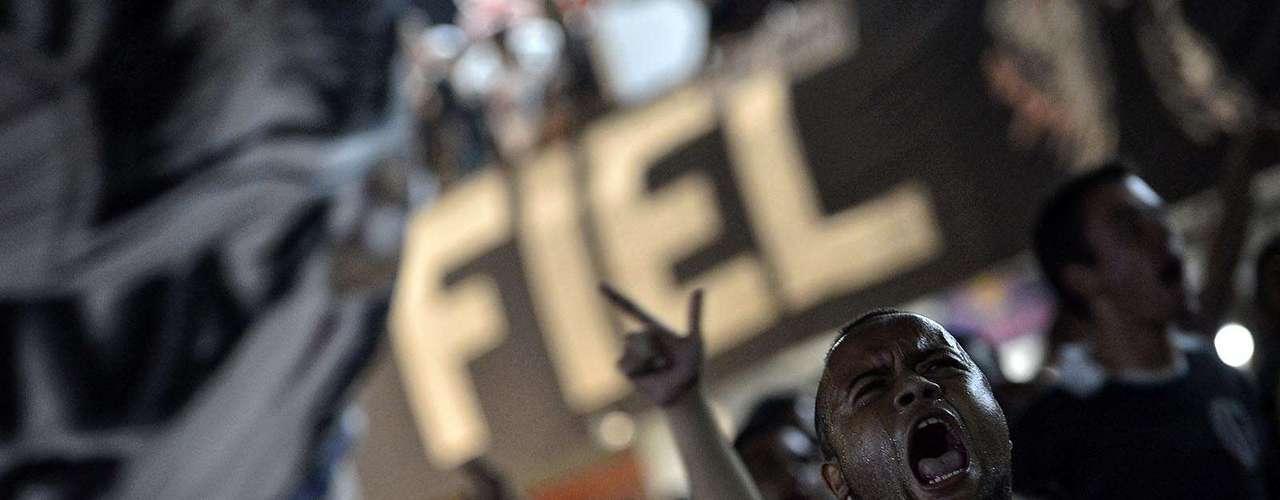 Torcedores se reuniram após proibição de público em jogos do Corinthians na Copa Libertadores